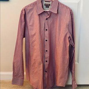 Michael Kors Mixed Stripe Men's Dress Shirt